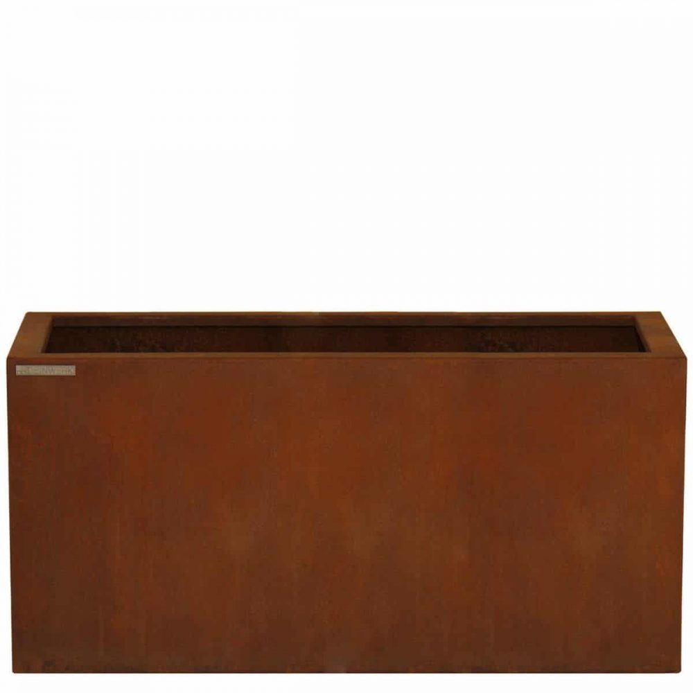 Corten Planzkübel Rectangle - deinwerk.de